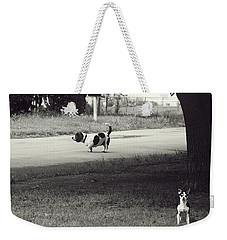 Little Pooch, Big Pooch Weekender Tote Bag