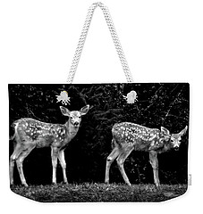 Two Fawns Weekender Tote Bag