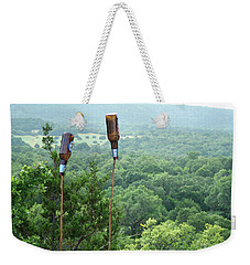 Weekender Tote Bag featuring the photograph Two For The Road by Joe Jake Pratt