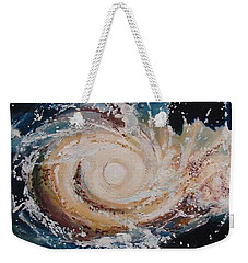Two Galaxies Colliding Weekender Tote Bag