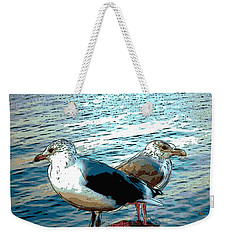 Two Gulls Weekender Tote Bag
