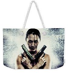 Lara Croft Weekender Tote Bag