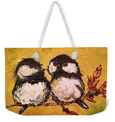 Two Hot Chicks Weekender Tote Bag