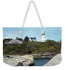 Two Lights - Maine Weekender Tote Bag