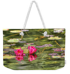 Two Lilies Weekender Tote Bag