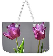 Two-lips Weekender Tote Bag by Skip Willits