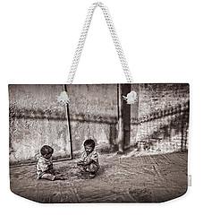 Two Little Boys Weekender Tote Bag