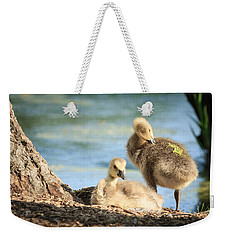 Two Little Goslings Weekender Tote Bag
