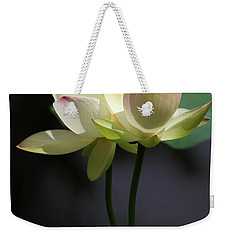 Two Lotus Flowers Weekender Tote Bag