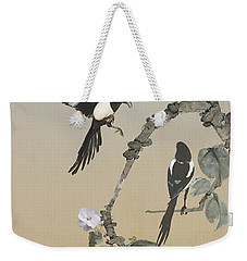 Two Magpies                       Weekender Tote Bag
