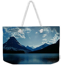 Two Medicine Lake Weekender Tote Bag