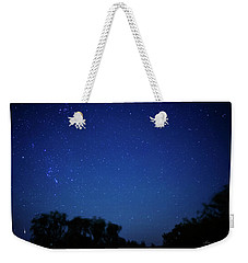 Two Meteors And A Fireball Weekender Tote Bag