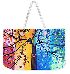 Two Moments Weekender Tote Bag