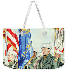 Two Months After 9-11  Veteran's Day 2001 Weekender Tote Bag