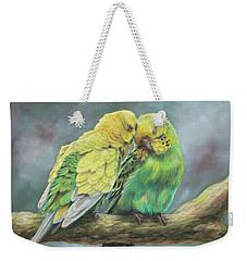 Two Of A Kind Weekender Tote Bag