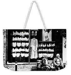 Two Old Men And Lingerie Weekender Tote Bag