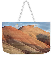 Weekender Tote Bag featuring the photograph Two Painted Hills by Greg Nyquist