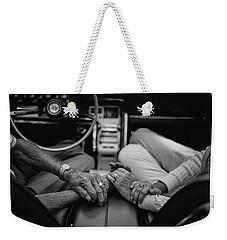 Two People In Love By Michael Grobin Weekender Tote Bag