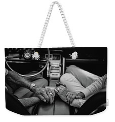 Two People In Love By Michael Grobin Weekender Tote Bag by Tara Moorman