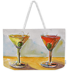 Two Perfect Martinis Weekender Tote Bag