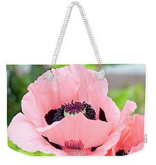 Two Pink Poppies Weekender Tote Bag