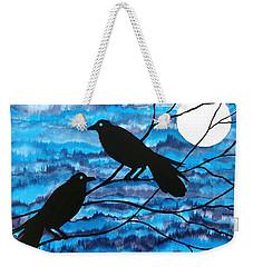 Two Ravens Weekender Tote Bag