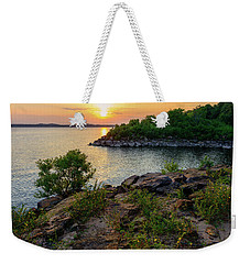Two Rivers Trail Weekender Tote Bag