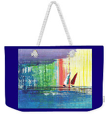 Two Sails Weekender Tote Bag