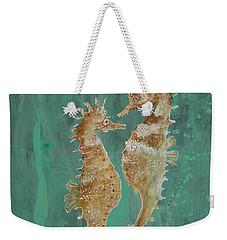 Two Seahorse Lovers Weekender Tote Bag