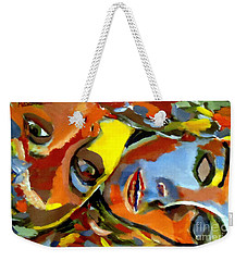 Two Souls Weekender Tote Bag