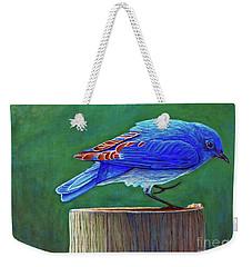 Two Step Weekender Tote Bag