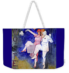 Two Step Weekender Tote Bag