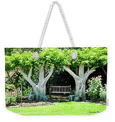 Two Tall Trees, Paradise, Romantic Spot Weekender Tote Bag