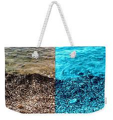 Two Tone Marine Weekender Tote Bag