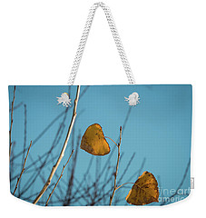 Two Warriors  Weekender Tote Bag by Ana V Ramirez
