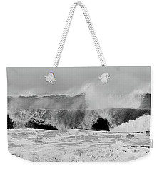 Two Waves Are Better Than One - Jersey Shore Weekender Tote Bag