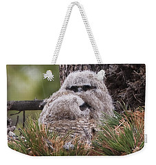 Two Whooo's  Weekender Tote Bag