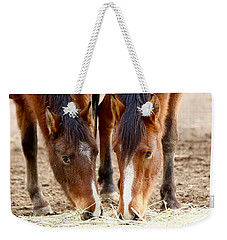 Two Young Friends Weekender Tote Bag