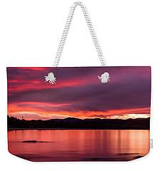 Twofold Bay Sunset Weekender Tote Bag