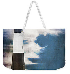 Weekender Tote Bag featuring the photograph Tybee Island by Judy Wolinsky