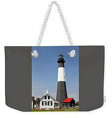 Tybee Lighthouse Georgia Weekender Tote Bag