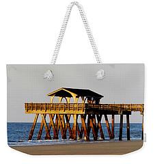 Tybee Pier Weekender Tote Bag