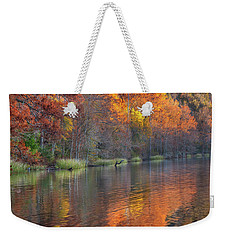 Tyler Lake Weekender Tote Bag by Tim Fitzharris