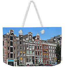 Typical Houses In Amsterdam Weekender Tote Bag