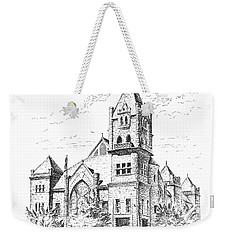 Tyrrell Historical Library Weekender Tote Bag