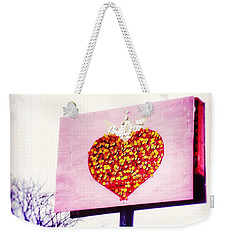 Tyson's Tacos Heart Weekender Tote Bag