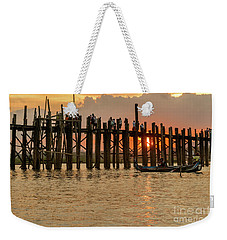 U-bein Bridge Weekender Tote Bag