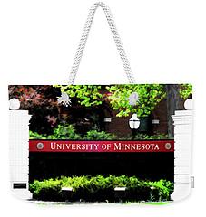 U Of M  Weekender Tote Bag