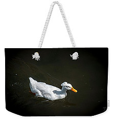 Weekender Tote Bag featuring the photograph U Qwak Me Up by Daniel Hebard