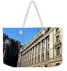 U S Custom House 1 Weekender Tote Bag by Randall Weidner
